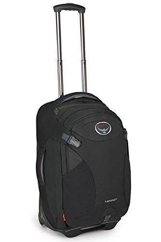 Osprey Meridian Wheeled Luggage (Spring 2016 Model)  (22-Inch/60 Liter, Metal Grey)