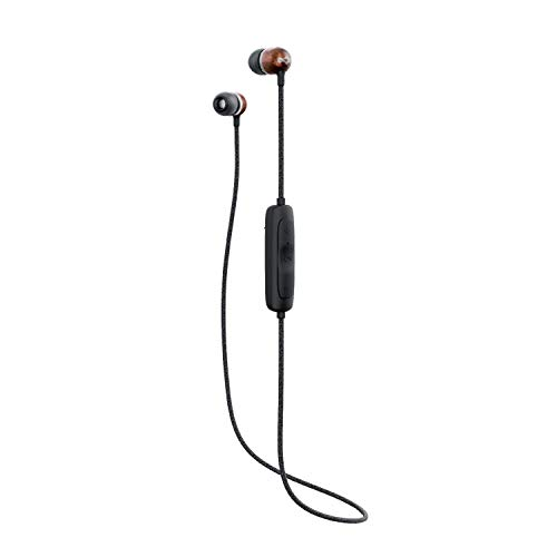 House of Marley Smile Jamaica Wireless 2, Bluetooth Headphones, Long Battery Life, Built-in Microphone and Quick Charge Technology, Signature Black