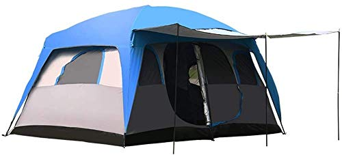 NLRHH Pop Up Camping Beach Tienda Viaje al Aire Libre Camping 8-12 Personas Muchas Personas Camping Camping Big Tent Beach Shade Tent Fácil de configurar Portable UPF 50+ UV Protection Tienda Peng