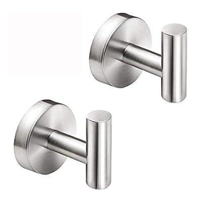 Myfolrena Bathroom Towel Hooks, Stainless Steel...