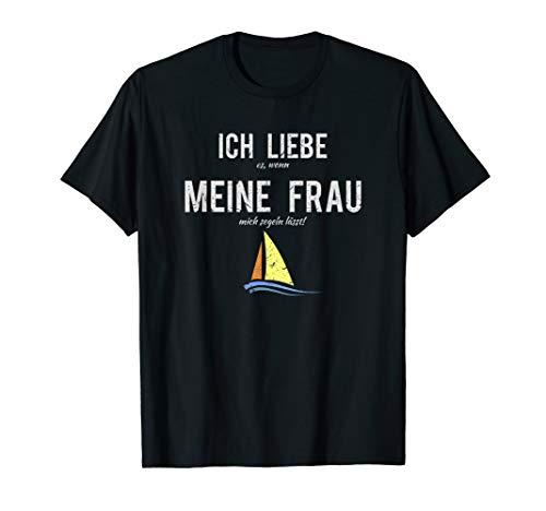 Kapitän TShirt Männer Segeln Regatta Geschenk Lustiges Shirt T-Shirt