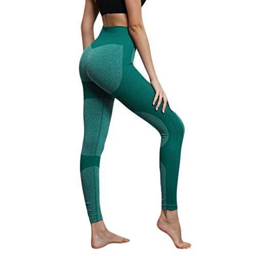 Lialbert Leggings Ouvert Damen Push Up Highwaist Sporthose Lang Sommer Jogginghose Frauen Einfarbig Stretch Yogapants Slim Fit Sport Tights Skinny Joggers SchöNe Trainingsanzug