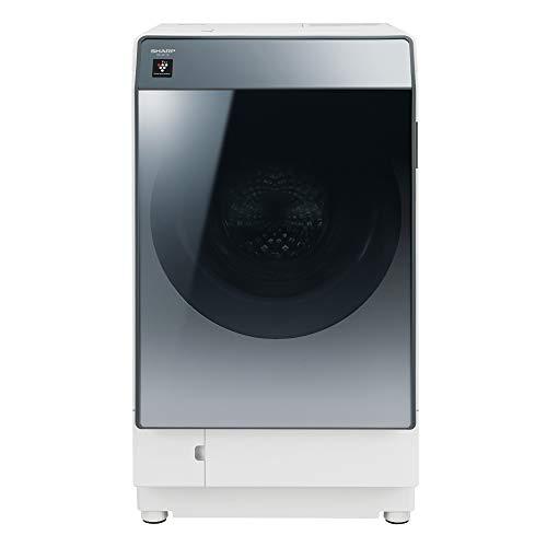 シャープ 洗濯機 ドラム式洗濯機 ハイブリッド乾燥 左開き(ヒンジ左) DDインバーター搭載 シルバー系 洗濯11kg/乾燥6kg 幅640mm 奥行728mm ES-W112-SL
