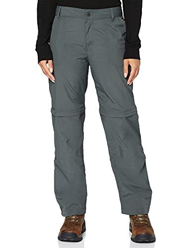 Columbia Silver Ridge 2.0 Convertible Pantalones de Senderismo, Mujer, Gris Grill, 36W Regular