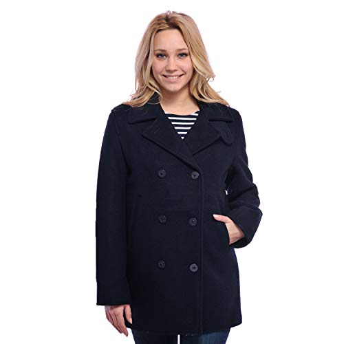 Anne ar Breiz | Caban Marino 100% pura lana impermeable
