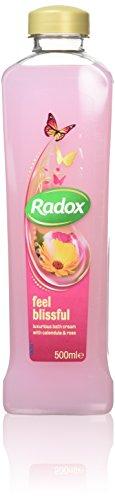 Radox Feel Blissful Bath Soak with Calendula and Rose, 500 ml, Pack of 6