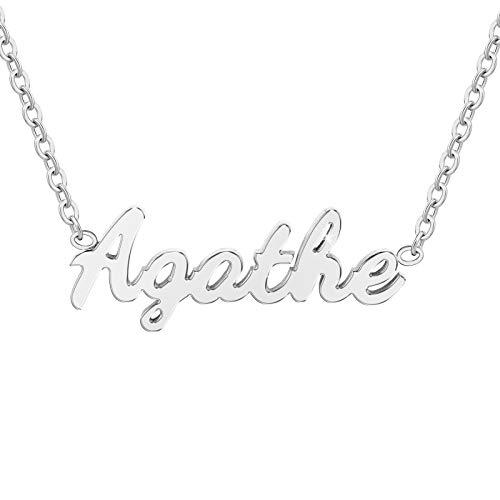 SC Crystal Agathe - Collar para mujer de acero