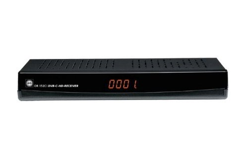 Wisi OR 152 CI DVB-C HD Receiver PVR USB HDD Ready schwarz Kabelreceiver Common Interface