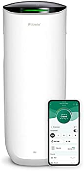 Filtrete Smart Air Purifier & Air Quality Monitor for Large Rooms