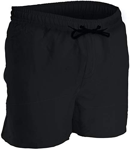 Men's Swim Trunks and Workout Shorts - XXL - Black - Perfect Swimsuit or Athletic Shorts for The Beach, Lifting, Running, Surfing, Pool, Gym. Boardshorts, Swimwear/Swim Suit for Adults, Men's Boys