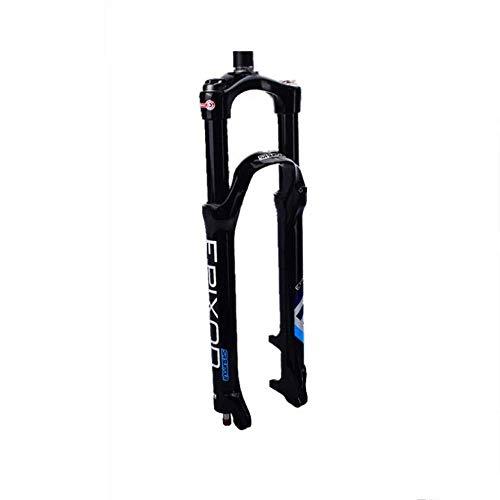 Horquilla de Bicicleta MTB Horquilla de suspensión de Bicicleta 26/27.5 Pulgadas Carrera 100Mm Bicicleta MTB Aleación de magnesio Horquilla de suspensión Control de Hombro y Control de Cables Horq TT