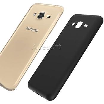 Ultra-Thin Slim Soft TPU Back Full Edge Protective Case Cover Skin for Verizon Samsung Galaxy J3 V SM-J320V Cellphone