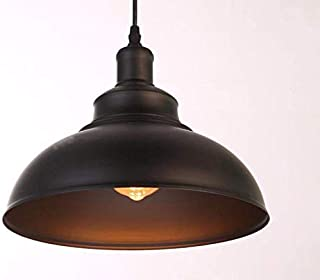 Suspension light Vintage retro cover Lid for American industrial Air-Head black 30 * 25 cm