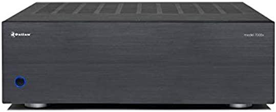 Outlaw Model 7000 x 7-Channel Power Amplifier | 7x130 Watts Continuous | High Current Class AB Amplifier | XLR & RCA Inputs |