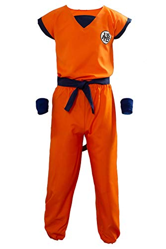 UU-Style Unisex Adult and Child Halloween Costume Son Goku Suit Outfit Cosplay Costume Kids Halloween Kung Fu Outfit
