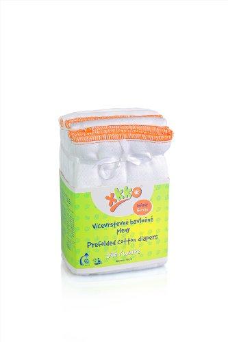 XKKO Faltwindeln aus Baumwolle (Vorfalz / Prefolds) Infant