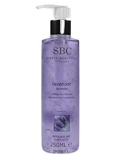 SBC Lavender Skincare Gel 250ml - Lavendel Hautpflege Gel