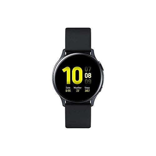 Samsung - Reloj Bluetooth Galaxy Watch Active 2 - Negro Aqua [versión francesa]
