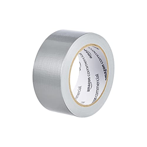 AmazonCommercial Standard Duct Tape, 1.88-inch by 20-yard, Silver, 16-Pack