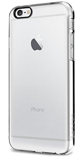 iPhone 6 ケース, Spigen®  滑り防止加工 Apple iPhone 4.7 (2014) シン ・フィット The New iPhone アイフォン6 (国内正規品) (クリスタル・クリア 【SGP10939】)