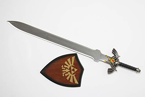 Swords and more Link Master Schwert Zelda Twilight Princess Schwert mit Tafel