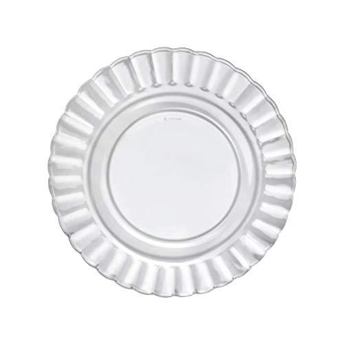 Duralex Paris 3030AF06A1111 - Juego de 6 platos llanos (cristal, 26 cm), transparente
