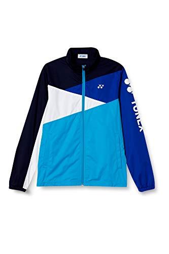 [ヨネックス] テニスウェア ニットウォームアップシャツ [ユニセックス] 52004 ブライトブルー (576) 日本 L (日本サイズL相当)
