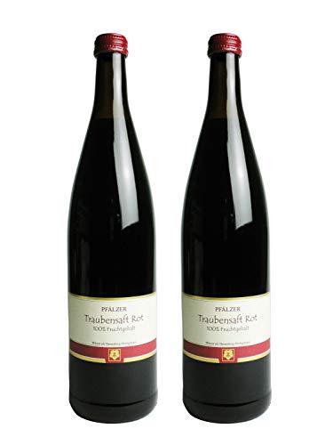 ファルツァー トラウベンザフト 赤・赤 ノンアルコールワイン (ぶどうジュース) 2本セット