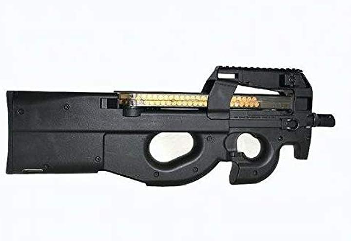 Fucile da assalto softair fucile elettrico softair fn p90 nero 0.9 joule - p90tr js-tactical B07P7HTSSS