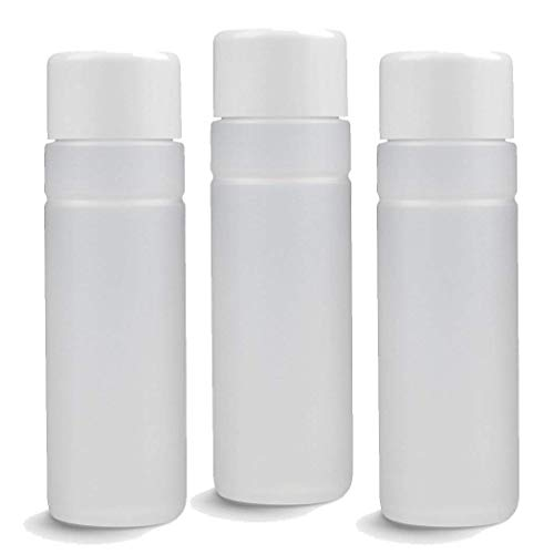 Bouteilles en plastique 100 ml – Vide – Lot de 10