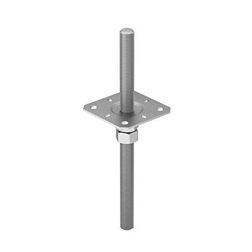 Stützenfuß Pfostenträger höhenverstelbar Gewinde - PPSR - 80x330