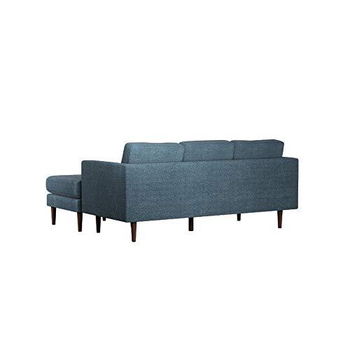Ecksofa Couch –  günstig Amazon Marke –Rivet Revolve Bild 4*