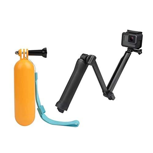 Kit Bastão 3 Way 3 Formas Para Câmeras GoPro e SJCam + Bastão de Mão Flutuador