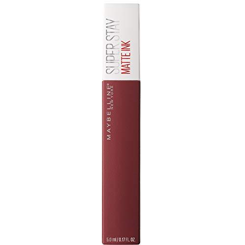 Maybelline New York Super Stay Matte Ink Lippenstift - flüssiger Lippenstift, bis zu 16 Stunden Halt, intensive & langanhaltende Farben, mattes Finish, Nr. 50 Voyager, 5 ml
