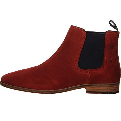 Salamander Herren Boots Ventino Chelsea rot Gr. 43