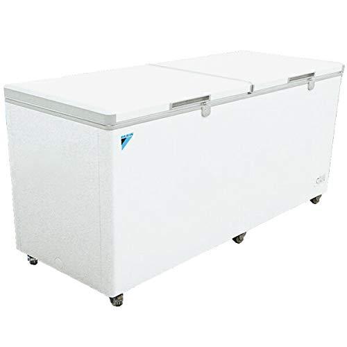 ダイキン 冷凍庫 チェストフリーザー 大型&大容量 2ドア式 分割扉 業務用冷凍ストッカー(鍵付き)750L LBFG7AS DAIKIN