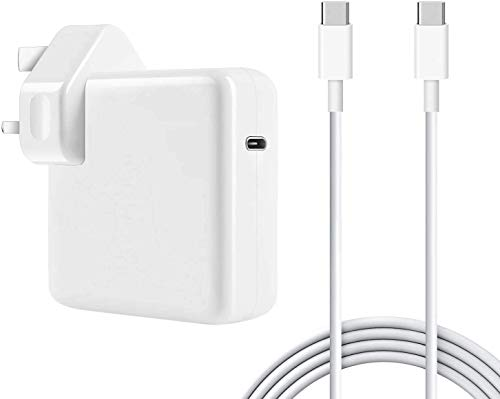 MiliPow 87W USB C/Type Charger Power Adapter Compatible with MacBook Pro 15 Inch 2016, 2017, 2018; 61W PD Type C Adapter Charger for MacBook 13 Inches, 12 Inch Laptop (2016, 2017, 2018, 2020)