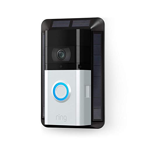 Cargador solar para Ring Video Doorbell 3 y Ring Video Doorbell 3 Plus