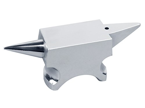 Cooksongold Essentials Jeweller's 475g Compact Steel Anvil for Metal Smiths, 110mm Length