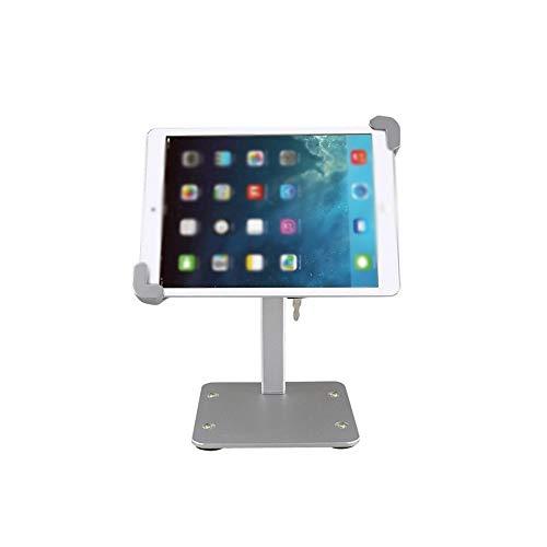 Tabletstandaard, aluminium legering desktop tablet computer standaard instelbare blokkering anti-diefstal product tentoonstelling stand biedt de beste kijkhoek