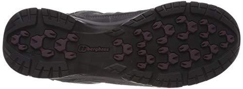 Berghaus Women's Expeditor Active AQ Waterproof Walking Shoes, Grey/Wine