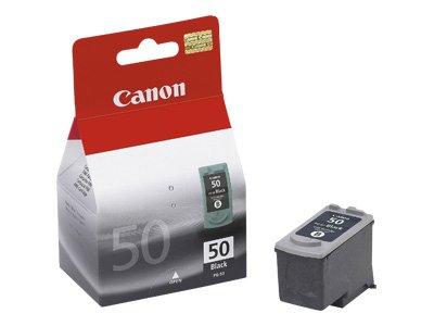 Canon–PG-50–Nero–Originale–Serbatoio inchiostro–per fax JX200, JX210, JX500, JX510; Faxphone JX510; Pixma MP160, MP180, MP460, MX300, MX310