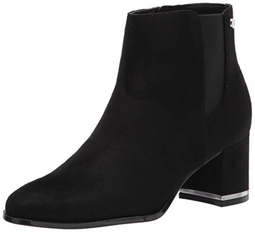 Calvin Klein Women's FIORANNA Ankle Boot, Black, 8 UK