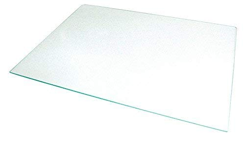 Frigidaire-Compatible 240350608 Crisper Glass Replacement - Refrigerator Pan Cover Insert - Shelf/Shelves/Drawer Parts - Pan Frame Insert 24 x 15.5'' - By Impresa Products