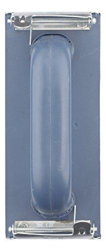 kwb Handschleifer-Set – 3-tlg. inkl. Schleifklotz mit Klemmvorichtung und Schleifgitter 93 mm x 230 mm (2 Stk.)
