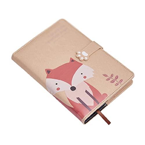 ZNZNN Cuaderno De Animales Diario Portátil Pequeño Bloc De Notas Adecuado para Suministros para Oficina(140 Hojas/280 Páginas) Regalo Cuaderno Multifuncional (Color : A5-D)