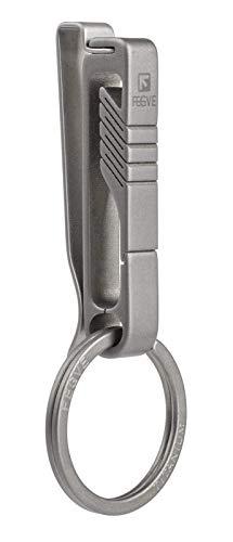 TISUR Belt Keychain Titanium Belt Loop Key Holder, Stainless Steel...