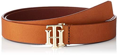 Tommy Hilfiger Damen Th Logo Belt 2.5 Gürtel, Cognac, 95