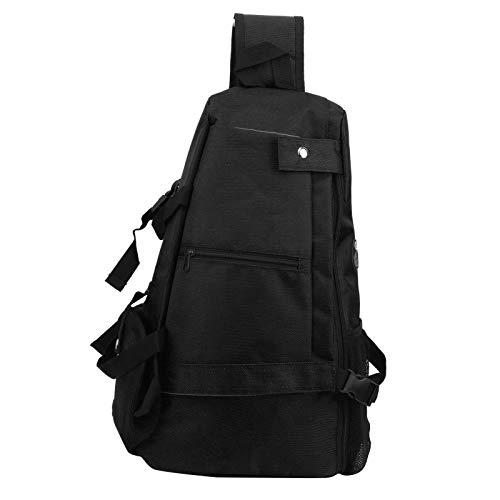 SALUTUYA Bolsa de Deporte de diseño ergonómico y cómodo, Accesorio de Ejercicio para Llevar, para Deportes(Black)