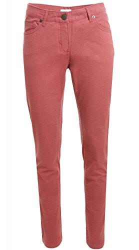 Aniston Hummer Hose Damen Freizeit-Hose Jeans Rot 879310 , Größenauswahl:42